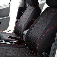 Cubierta de asiento de coche Compatible con airbag rojo para Nissan Peugeot RAV4 Toyota Corolla Vios Yaris Prius Camry Weiz