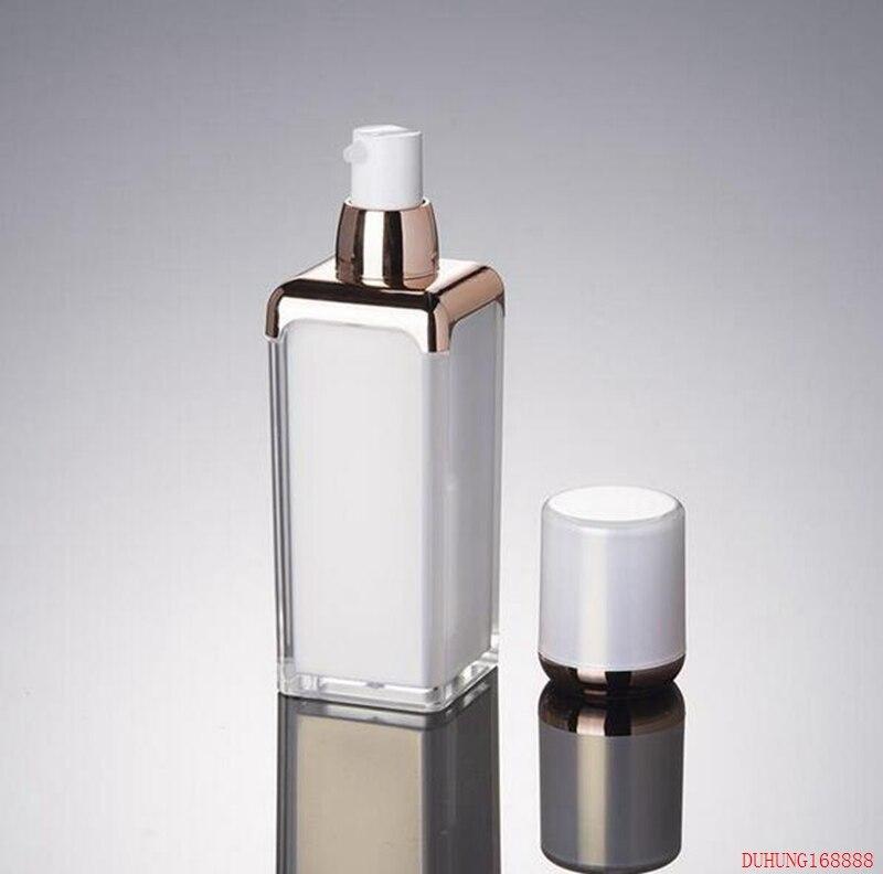 300 Uds 15ml 30ml 50ml botella de crema de acrílico blanco perla, contenedor cosmético, tarro de crema, tarro cosmético, embalaje cosmético