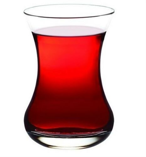 مجموعة من 6 التركية كوب للشاي من الزجاج تخدم أكواب Pasabahce عالية الجودة أنيقة نمط