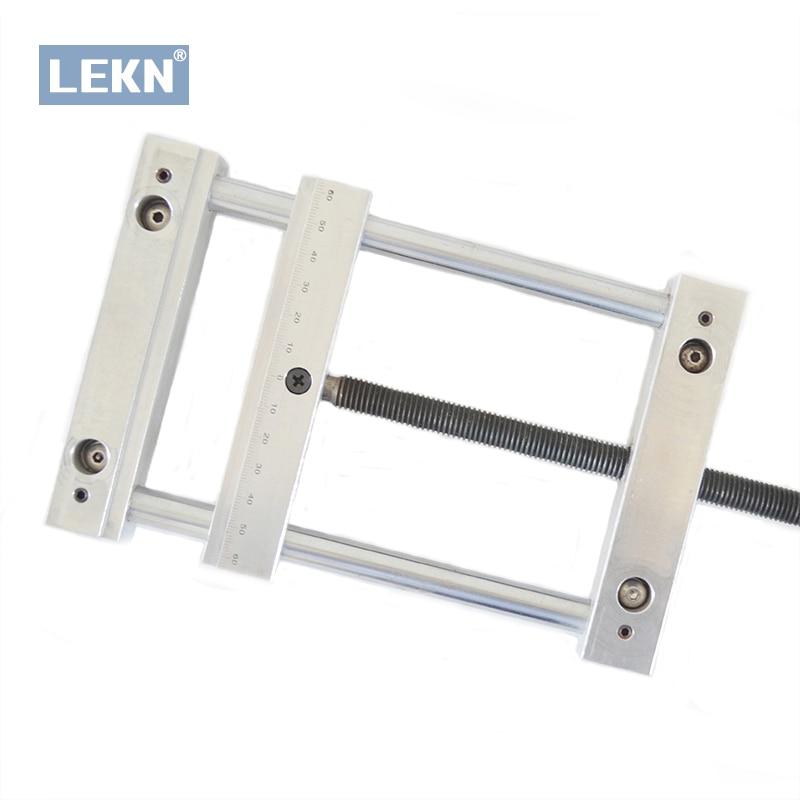 Pince plate manumotrice, vis précision mâchoire parallèle étau uni QGG, largeur de maintien maximale 140mm pour CNC 3020 3040