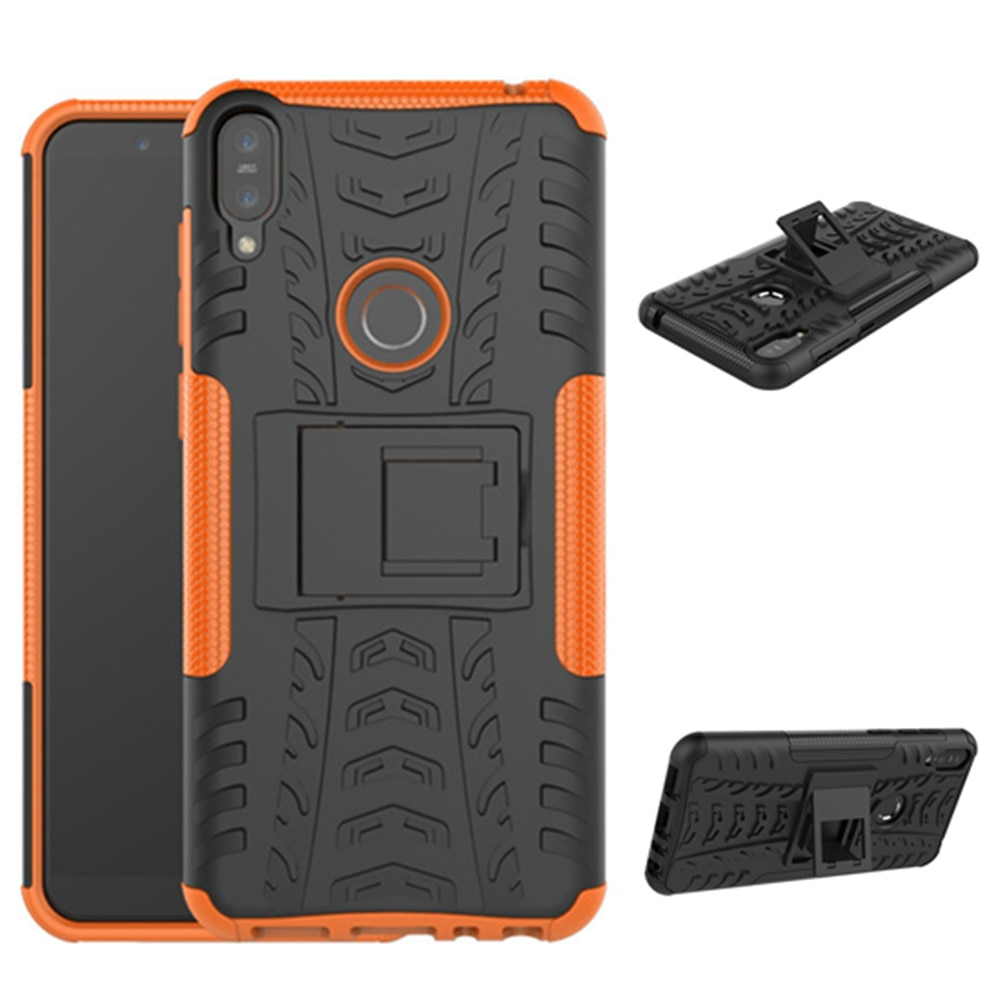 Para asus zenfone max pro m1 zb601kl caso stealth stents capa traseira suporte para asus zenfone max pro (m1) zb602kl casos de telefone