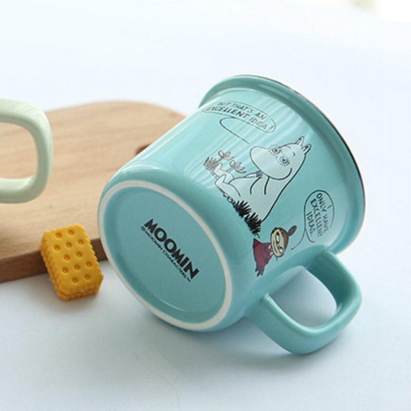 Moomin/чашки из Финляндии для молока, воды, завтрака, чая, милый мультфильм, Muumintroll Little My Lovely Muumi, семейная кофейная кружка
