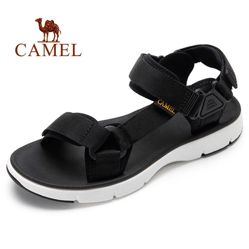 Sandalias CAMEL para hombre, novedad de verano, informales, para exteriores, calzado para hombre, tendencia de playa, ligero, transpirable, antideslizante, sandalia para hombre