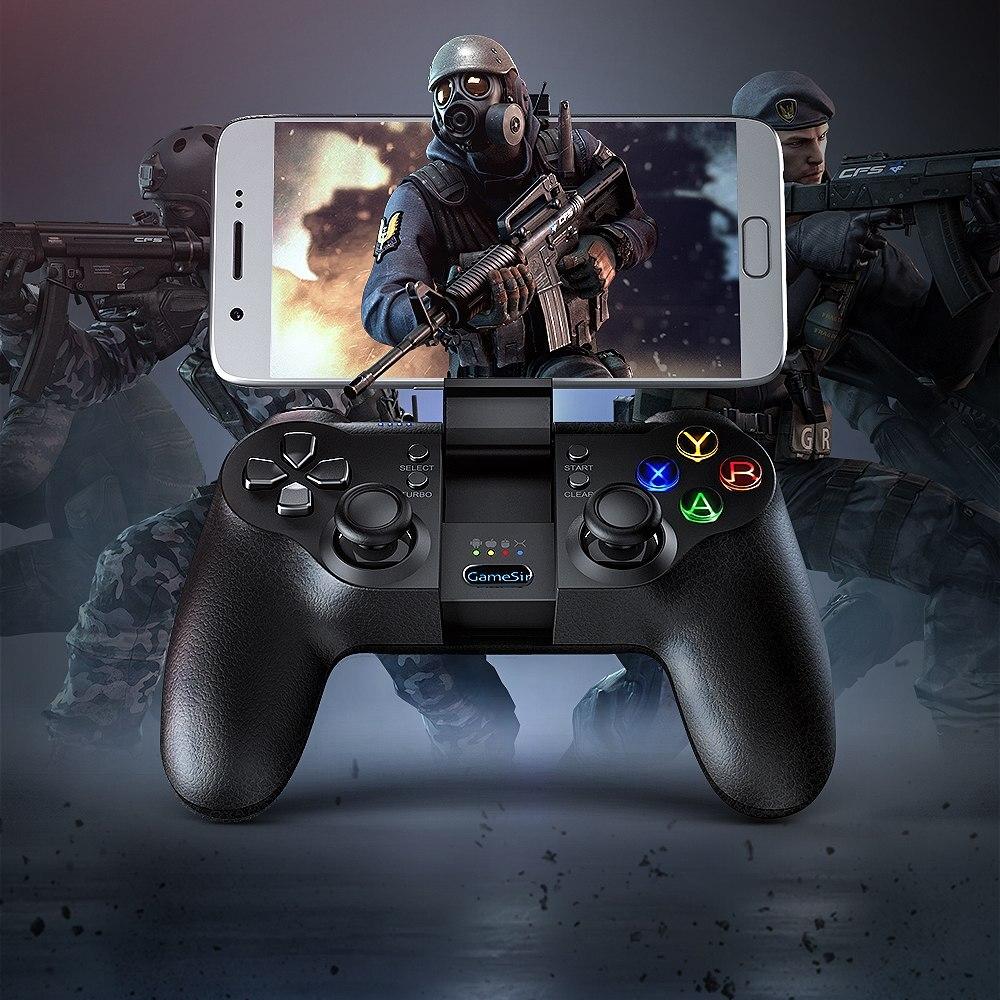 Контроллер GameSir T1s Moba, правила контроллера выживания геймпад Bluetooth 2,4 ГГц проводной джойстик ПК для SONY Playstation 3 MCU