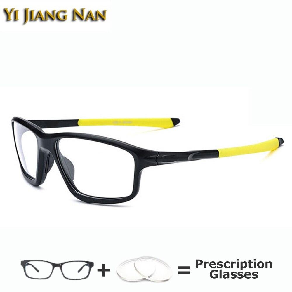 نظارات رياضية كبيرة للرجال ، إطارات نظارات عالية الجودة TR90 ، نظارات بوصفة طبية ، أوتشيالي دا فيستا دونا