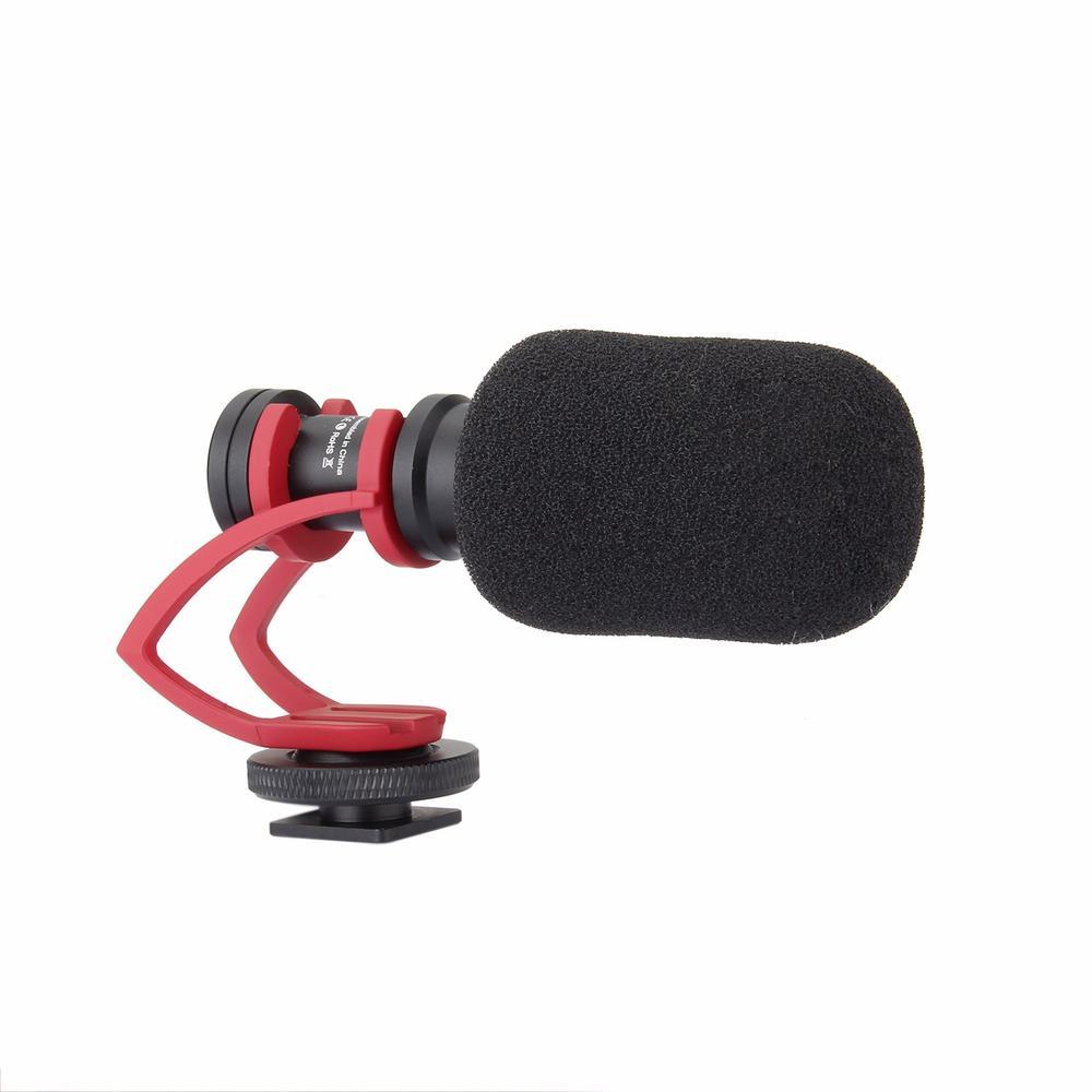 Comica CVM-VM10 II Microphone for DJI OSMO Mobile Plus Smartphone GoPro Micro Camera Cardioid Directional Shotgun Microphone enlarge
