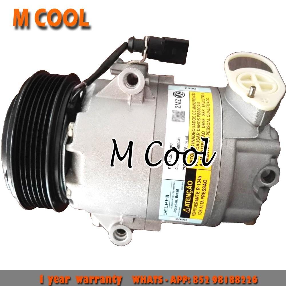 Para compresor de aire acondicionado AC Volkswagen Fox Polo Crossfox espacio Fox compresor para skoda 5Z0820803