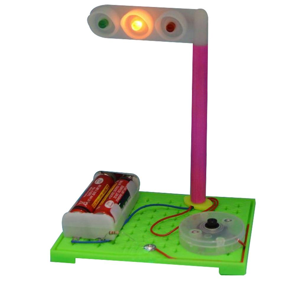 DIY образовательные игрушки Моделирование светофоры