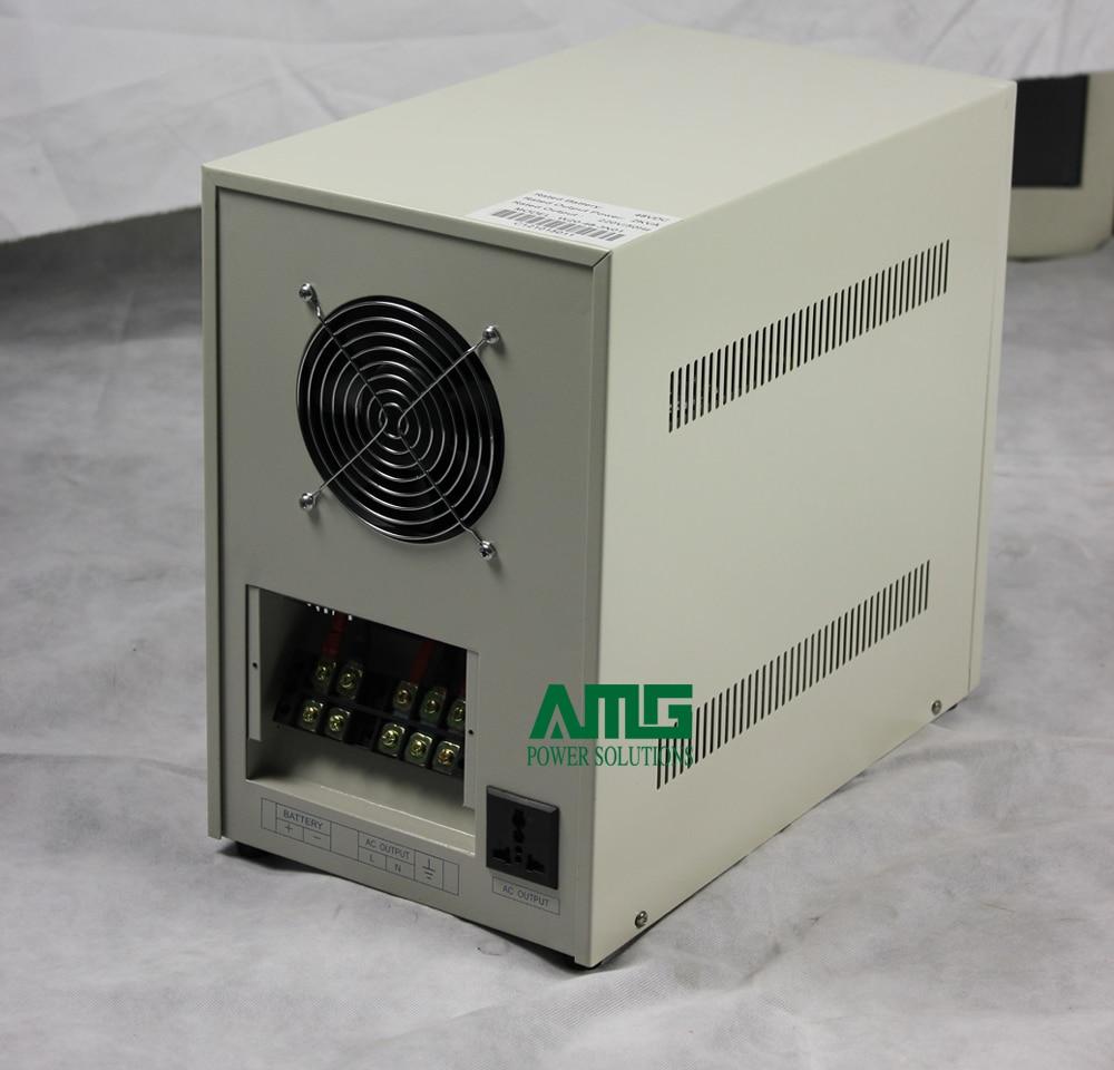 2000VA 48VDC إلى 110/120/220/230/240VAC ، 50/60Hz الناتج الصناعي تردد موجة جيبية نقية العاكس لبطارية 48 فولت