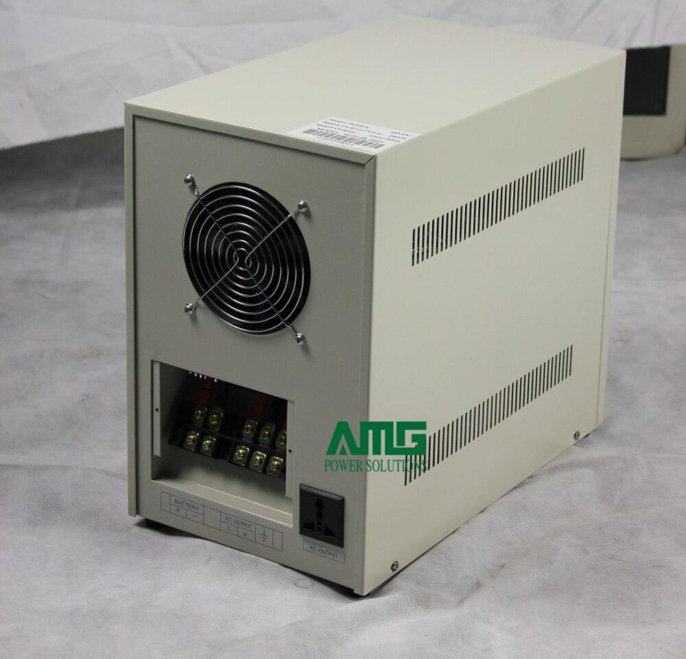 2000VA 48VDC a 110/120/220/230/240VAC, salida 50/60Hz inversor de onda sinusoidal pura de frecuencia Industrial para batería de 48V