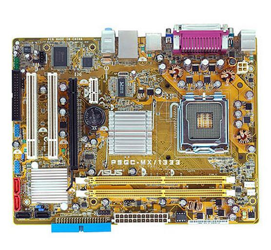 Zócalo LGA 775 para ASUS P5GC-MX/1333 Original usado de escritorio para placa base Intel 945 DDR2 USB 2,0 SATA2