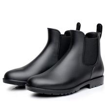 Automne chaussures femme chaussures décontractées imperméables bottes de pluie printemps extérieur chaussures de pluie filles bottines chaussures deau Botines Mujer 2019
