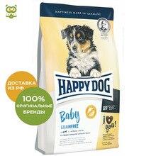 Happy Dog bébé suprême sans grain bezzernovoy nourrir pour les chiots de toutes races, oiseau, 10 kg.