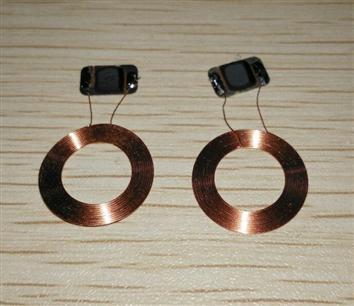 15mm NFC 213 de 144 bits COB NFC bobina y chip RF etiquetas pasivas para todos NFC productos
