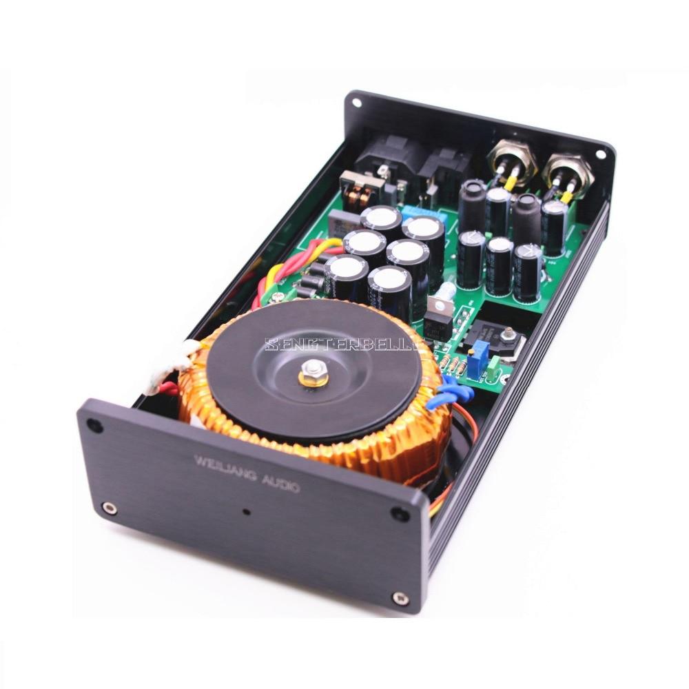 50VA HIFI ультра-низкий уровень шума линейный источник питания DC5V 9V 12V 15V 18V 24V LPS PSU