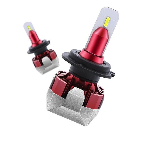 2 uds. Bombillas de coche H4 LED H7 H3 H8 H9 H11 881 9005 LED H1 9006, Faro de coche para Opel Astra Insignia Mokka Corsa Zafira