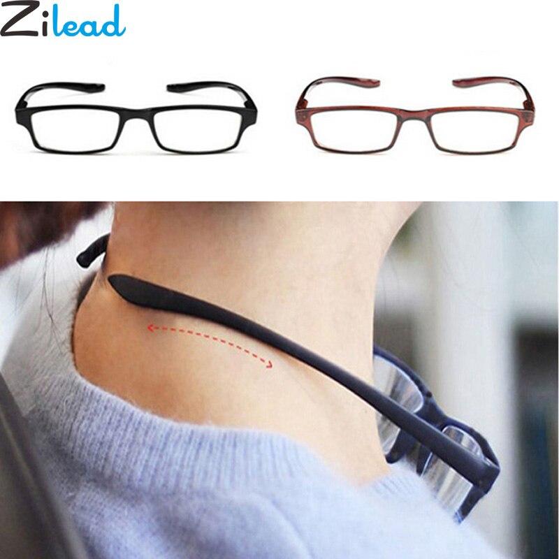 Zilead Comfy Ultraleicht Halter Lesebrille Hängen Stretch Frauen & Männer Anti-müdigkeit HD Presbyopie + 1.0 + 1.5 + 2.0 + 2.5 + 3.0 + 3.5 + 4,0