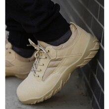 Mens Hiking Shoes Military Boots Tactical Combat Sneakers Men Outdoor Trekking Climbing Mountain Shoes Women SWAT Botas Tacticas