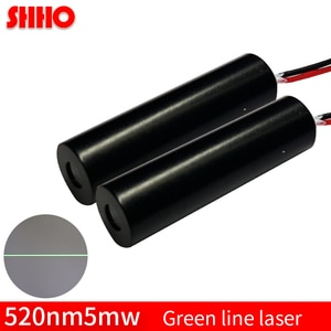 High quality 520nm 5mw green line laser module industrial class positioning laser locator transmitting tube laser launcher