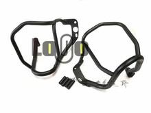 Protection contre les chocs sur route   Barres pour BMW R1200R 2007-2014 noires