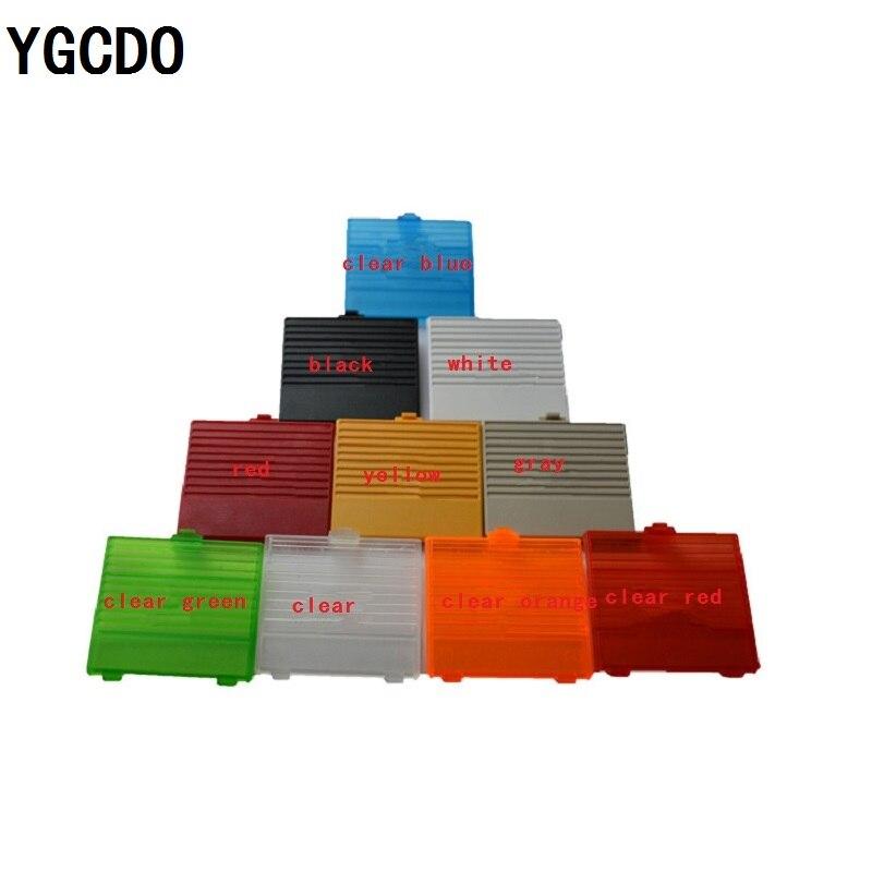 YGCDO nuevo reemplazo de la cubierta de la batería para GameBoy carcasa clásica para GB DMG GBO reemplazo de la puerta del paquete trasero