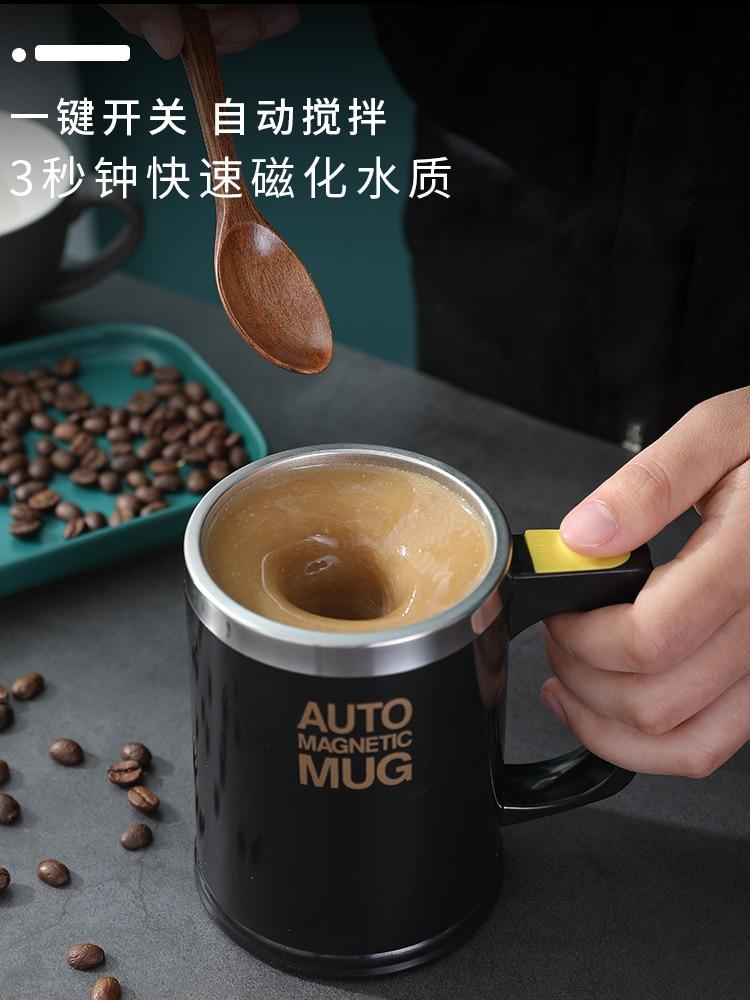 Tazas tg-motors, automática, eléctrica, perezosa, auto agitadora, taza mezcladora de café, leche, taza mezcladora de zumo inteligente de acero inoxidable