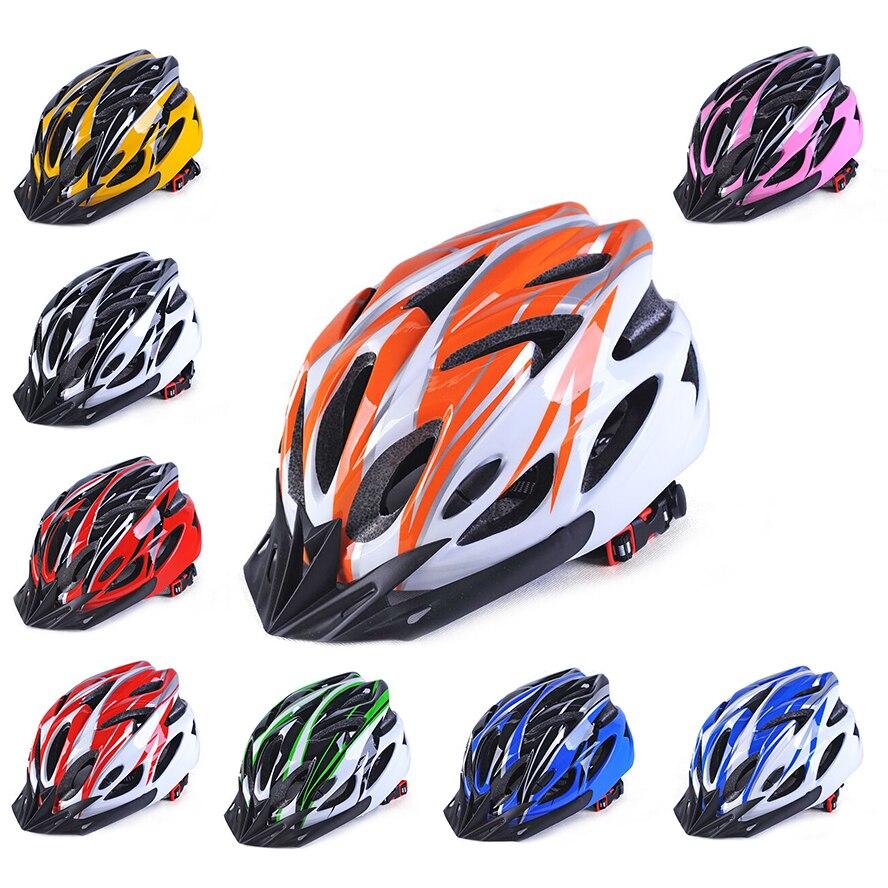 Casco de seguridad para bicicleta, ultraligero, para ciclismo de montaña Casco de bicicleta de carretera, 18 agujeros, 2018