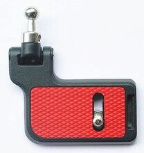 1 pièces trépied monopodes F2 pliable plaque de montage pour transporter la vitesse CS-PRO FS-Pro FS-slim FS-extrême épaule caméra sangle QR plaque