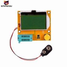Yeni LCR-T4 ESR Metre Transistör Test Dijital Mega328 M328 Lcr diyot triyot Kapasite Testi Muiltmeter ESR MOS/PNP/NPN l/C/R