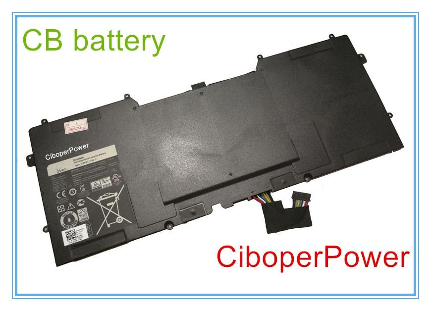 Calidad Original batería del ordenador portátil para C4K9V 55Wh 7,4 V para 13 XPS13 13-L321X 13-L322X