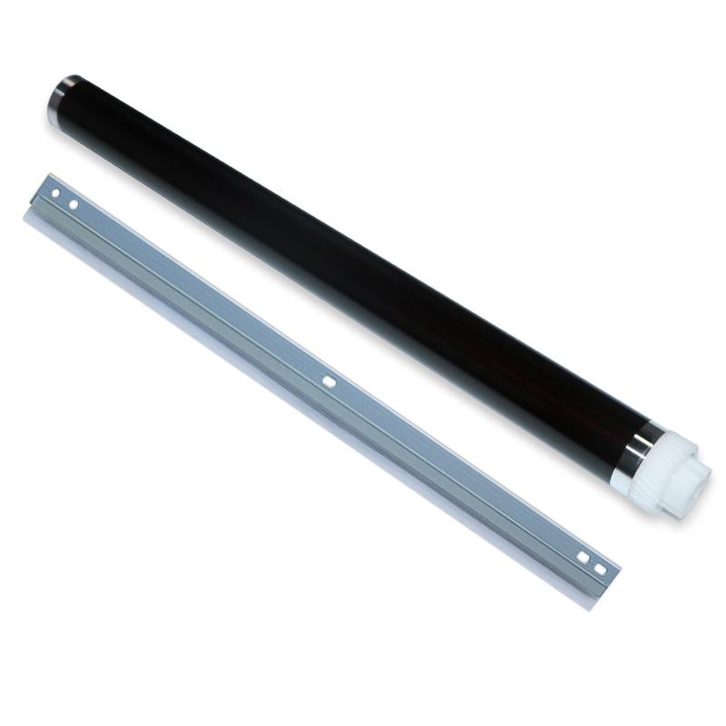 2X/set OPC Drum+Cleaning Blade for Kyocera KM1800 TASKalfa 1800 1801 2200 2201 2010 2011 2210 2211 Drum Cylinder