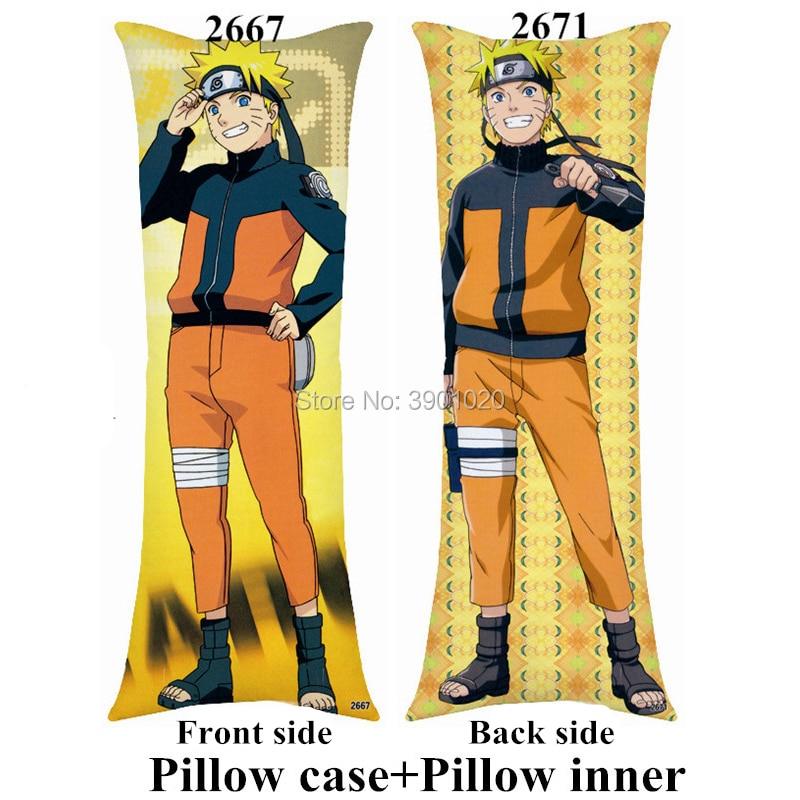 Travesseiro do namorado anime naruto uchiha sasuke itachi personalizar o corpo longo travesseiro com o interior