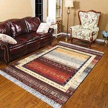 Else Brown Cream Orange Yellow Gray Persian Ethnic 3d Print Anti Slip Kilim Washable Decorative Kilim Area Rug Bohemian Carpet