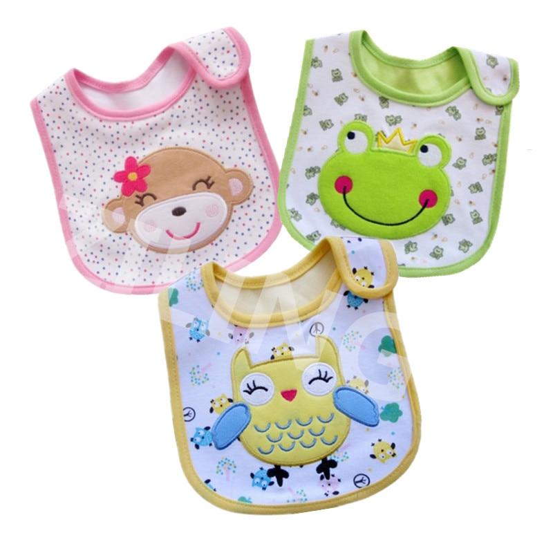 Baberos de algodón para bebé, toalla de Saliva para niño pequeño, Baberos...