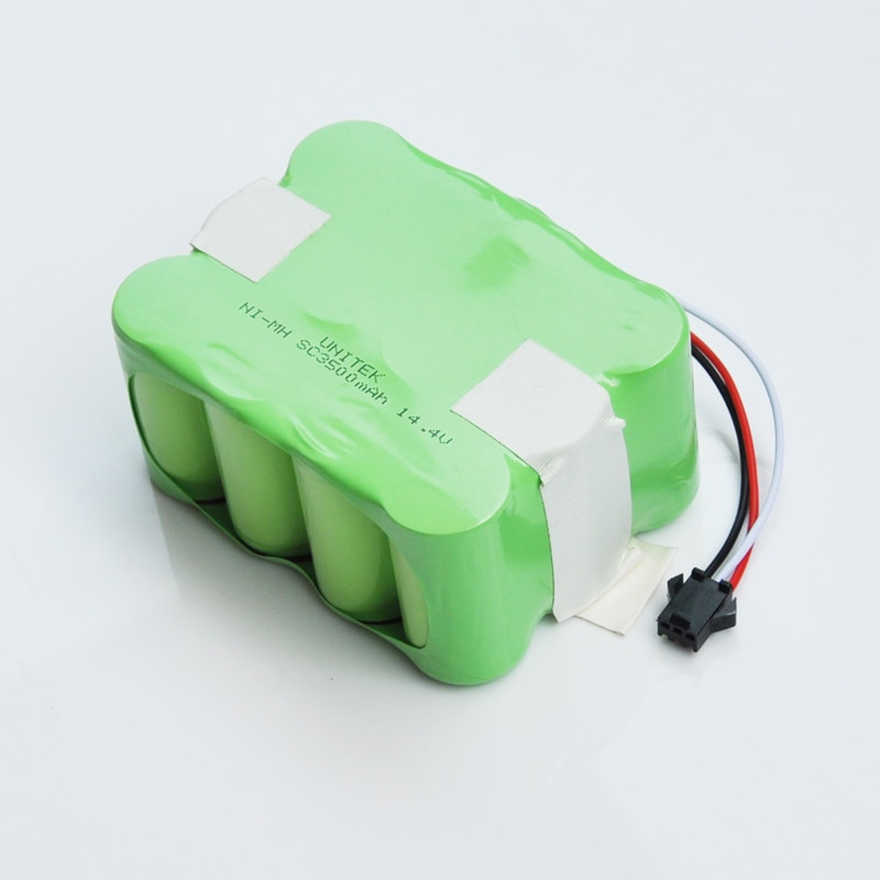 US 14.4V Ni-Mh SC Rechargeable Battery 3500mAh Vacuum Cleaner Robot for KV8 XR210 XR510 XR210A XR510B Zebot Z520 Fmart R770