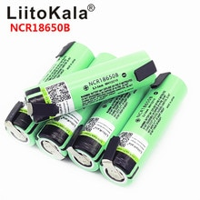 Liitokala calda nuovo originale NCR18650B 3.7V 18650 3400mAh 18650 batteria al litio ricaricabile + FAI DA TE nichel pezzo