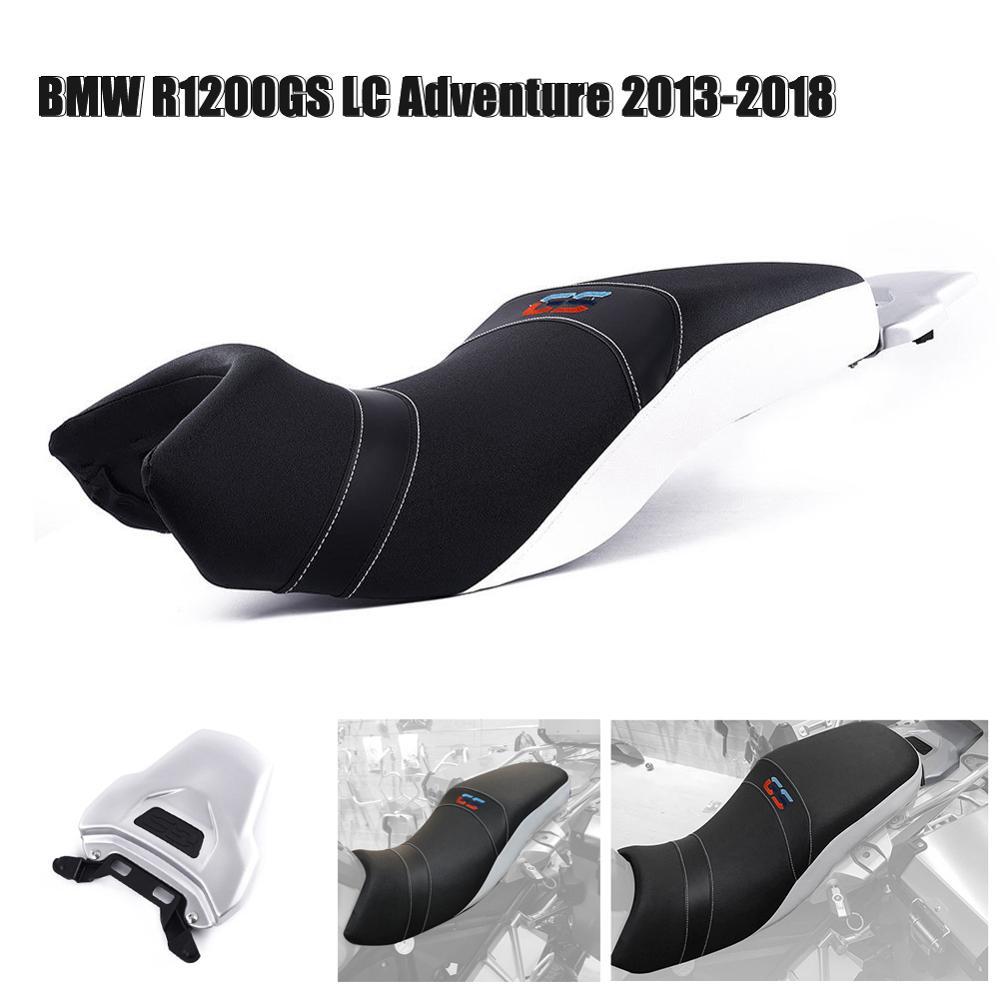 Capa de assento para bmw r1200gs adv 82 cm inferior motorista piloto passageiro assento duplo esporte carenagem r 1200gs 2018 2017 2016 2015 2014 2013