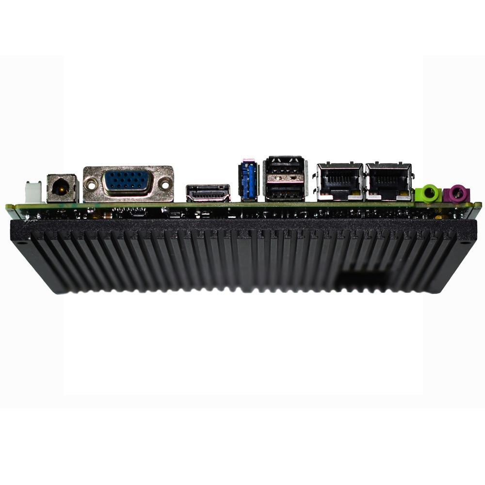 Fanless DDR3 4Gb ram itx Mainboard with 64GB SSD Intel J1900 processor x86 Industrial Motherboard for kiosk control