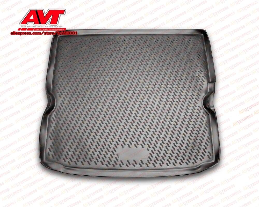 Trunk mats for Opel Zafira B 2005- 1 pcs rubber rugs non slip rubber interior car styling accessories
