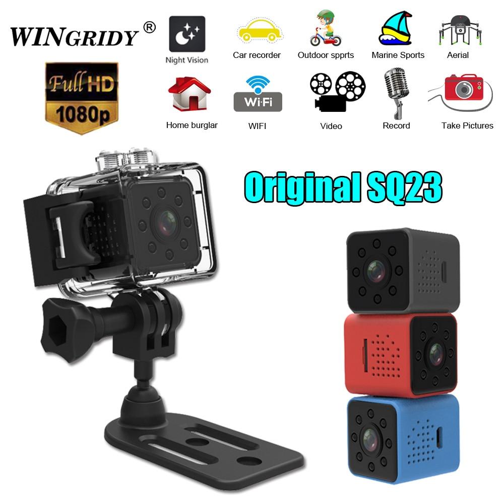 SQ23 WiFi Cam Original Mini Camera Camcorder Full HD 1080P Sport DV Recorder 155 Night Vision Small Action Camera DVR pk sq13