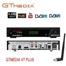 V7 PLUS H.265 MPEG-4 dvb-t2 cyfrowy TV Box Tuner Wifi receptora Dvb-s2 odbiornik satelitarny Combo Dvb T2 S2 telewizji set-top pudełko