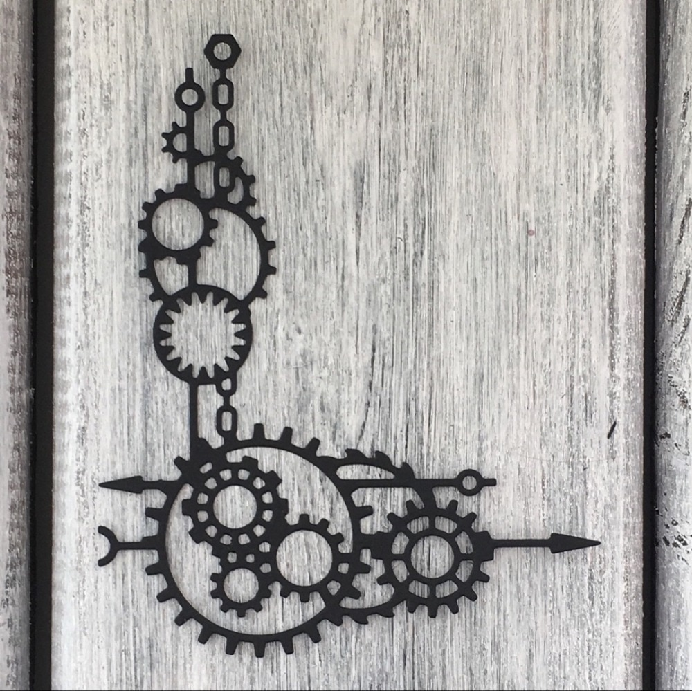 ArtScrap Steampunk Corner para hombre troqueles de corte de Metal DIY Scrapbooking tarjeta troqueles decorativos