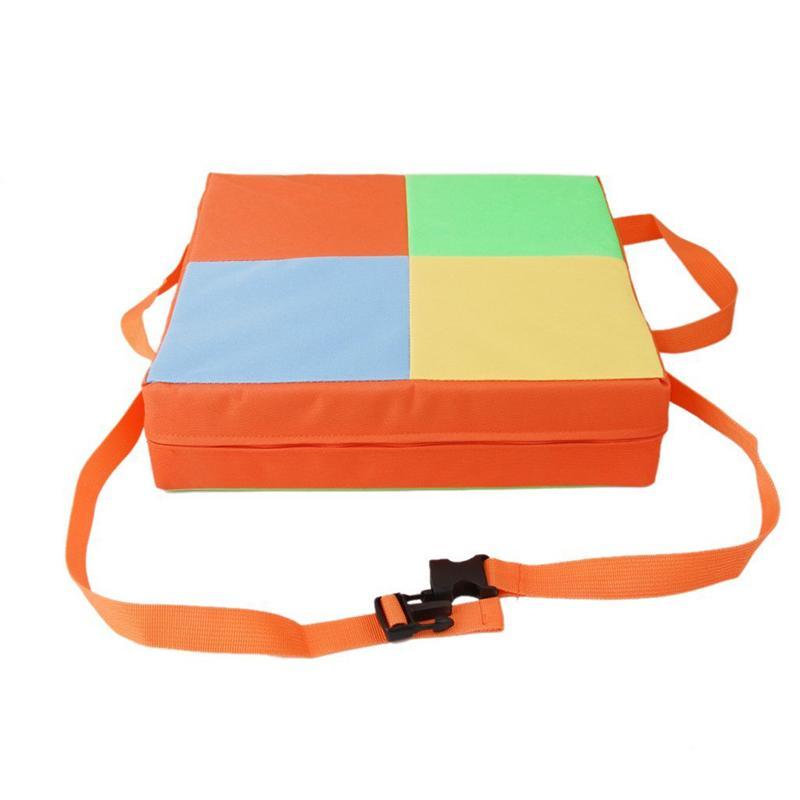 Детские обеденные стулья для малышей, подушки, сиденья, разборные и регулируемые сиденья, стульчики для кормления (оранжевый)