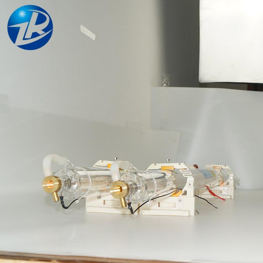 CO2 лазерная трубка 40 Вт 750*50 мм, промышленная CO2 лазерная трубка для лазерной гравировки, резки ZuRong