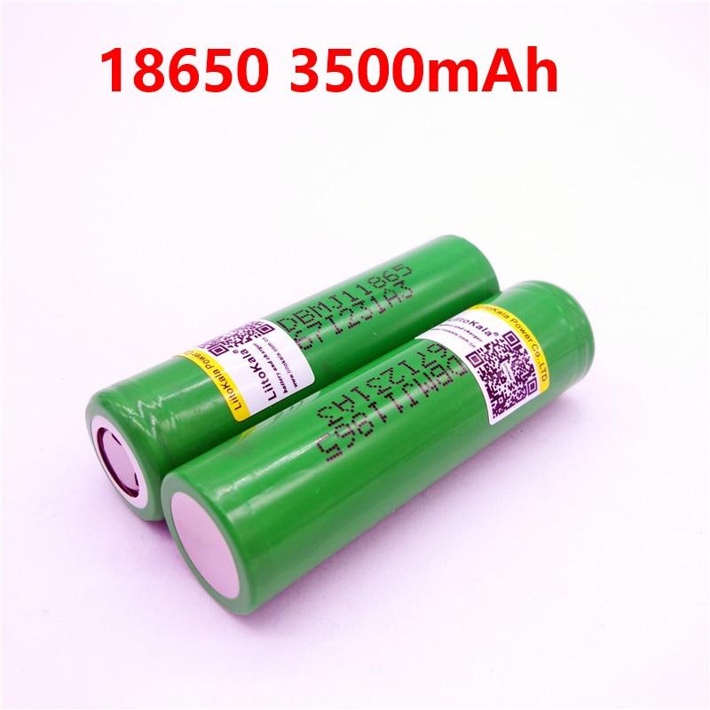 2 шт. Новый LiitoKala для MJ1 18650 INR18650MJ1 10A разрядный литий-ионный аккумулятор 3500 мАч INR18650MJ1 батареи
