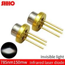 Laser semiconductor TO18/durchmesser 5,6mm 785nm 150mw infrarot laser diode IR kamera füllen licht teile unsichtbare licht launcher