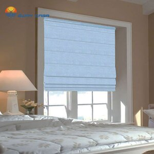 EWAY CASA Blackout Waterproof Solid Color Roman Curtains Roman Blinds Window Blind for Bedroom Venetian Blinds No.RC_4M