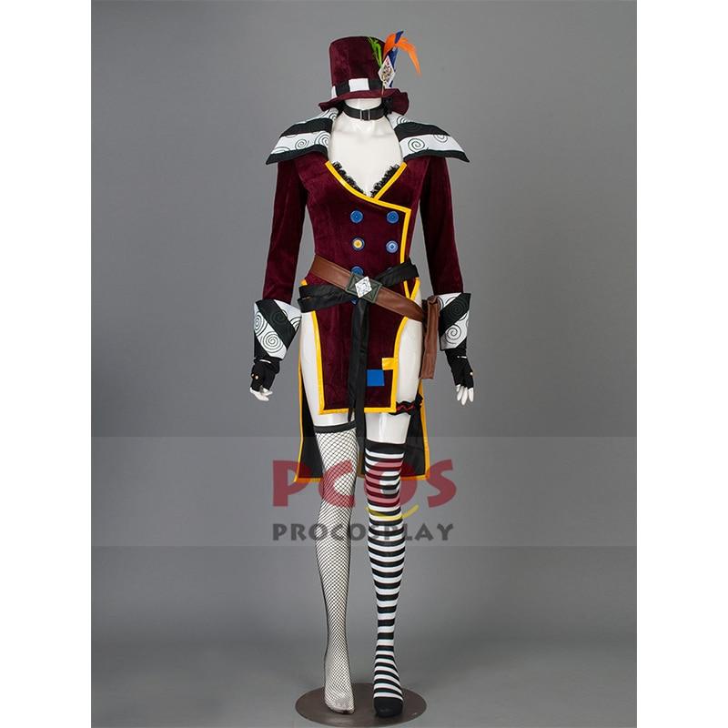Borderlands Mad Moxxi Cosplay Costume Custom mp001677