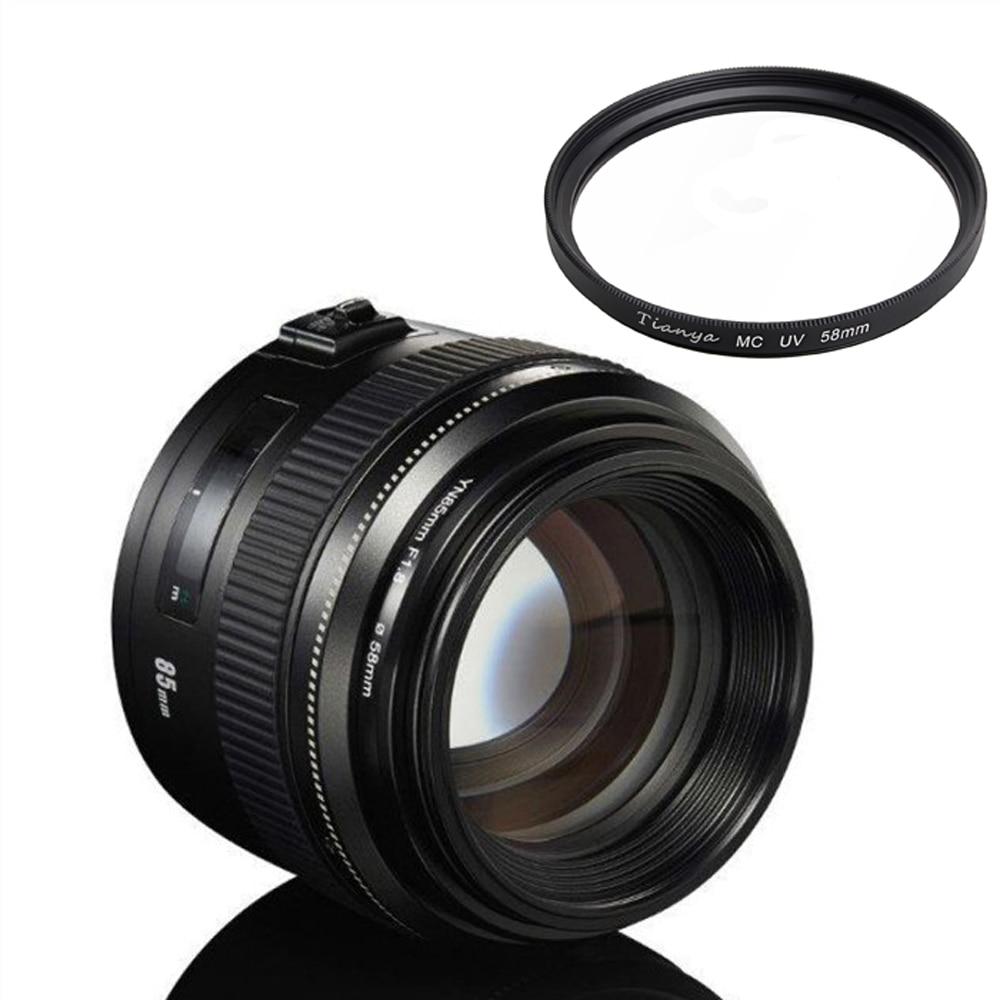 YONGNUO-عدسة ضبط تلقائي للصورة بإطار كامل ، 85 مللي متر ، لنيكون D810 ، D750 ، D850 ، D7100 ، D7200 ، D3200