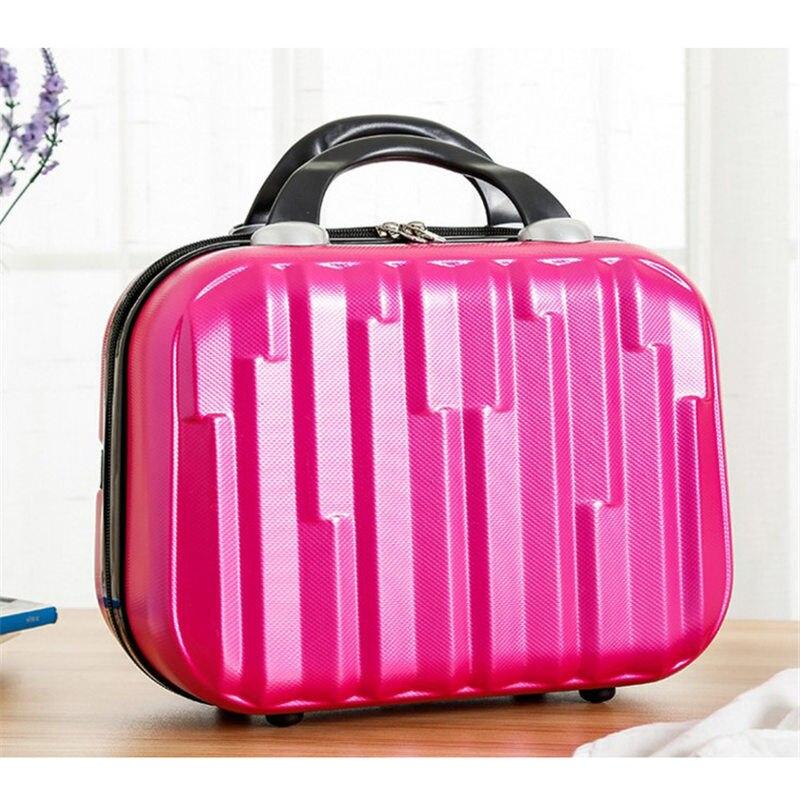 Dibujos Animados Hello kitty Bowknot Kids Tote Bag mochila Mejores Regalos para chica HOT 14 pulgadas maleta de viaje mujeres makeupbox hologramas gratis